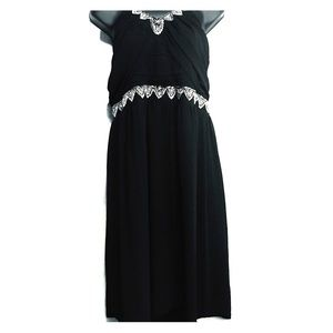 Torrid black beaded dress
